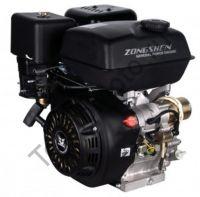 Двигатель Zongshen (Зонгшен) ZS 177 FEP-4 с понижающим редуктром 1/2 и автоматическим сцеплением, мощностью 9 л.с., диаметр вала 22,0 мм. Комплектуется ручным пуском и электростартером, две катушки освещения мощностью (12V, DC 60W + 10W)
