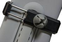 """Держатель для смартфона с силиконовым креплением на решетку обдува (до 5"""")"""