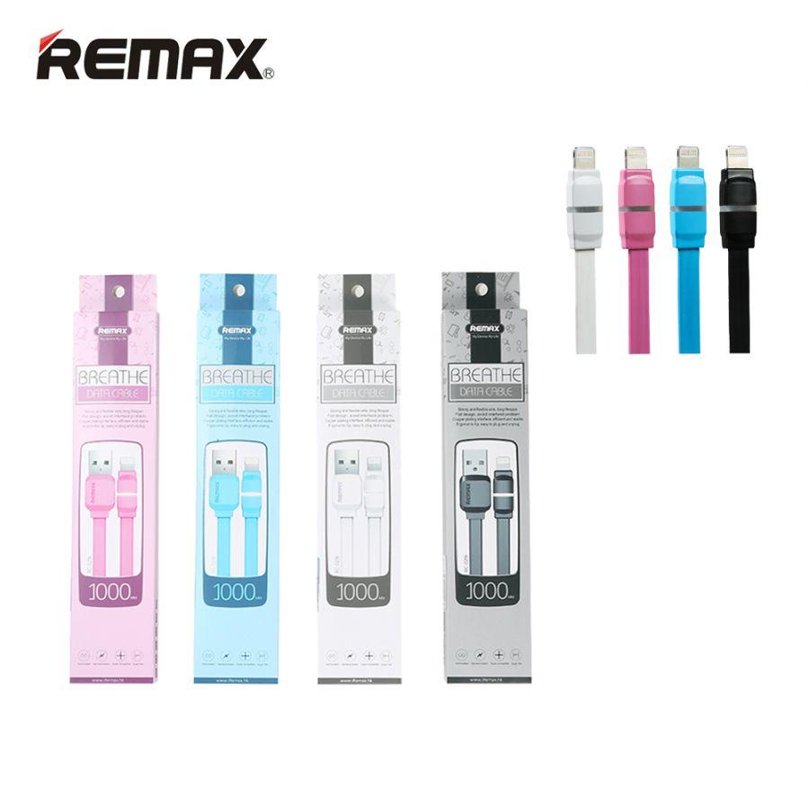 Шнур iPhone 5 - USB Remax BREATHE