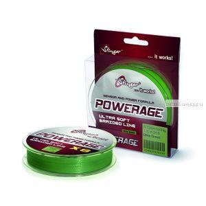 Шнур плетеный Stinger PowerAge X8 100 м / цвет:Ol.Green