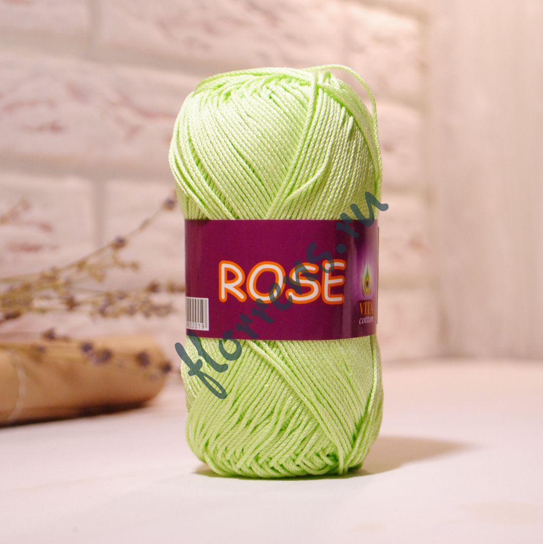 Пряжа Rose / 3910 салатовый