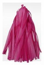 Гирлянда Тассел, розовая, 3м, 10 листов