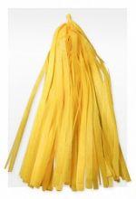 Гирлянда Тассел, жёлтая, 3м, 10 листов