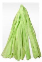 Гирлянда Тассел, светло-зелёная, 3м, 10 листов