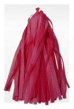 Гирлянда Тассел, красная, 3м, 10 листов