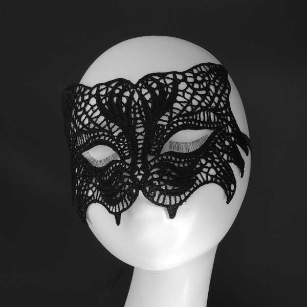 """Ажурная маска """"Пантера"""""""