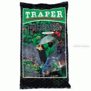 Прикормка Traper Sekret Фидер черный 1кг