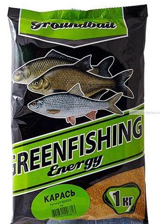 Прикормка Greenfishing Energy Карась 1кг