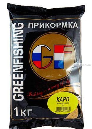Прикормка Greenfishing GF Карп 1кг