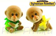 "Sylvanian Families. Набор ""Двойняшки обезьянки"""