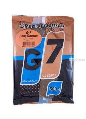 Прикормка Greenfishing G7 Ice Лещ - плотва 500 гр
