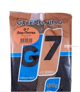 Прикормка Greenfishing G7 Ice плотва 500 гр