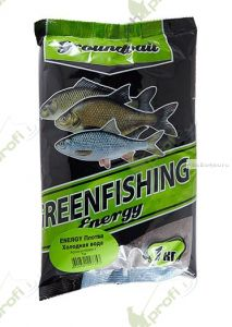 Прикормка Greenfishing ENERGY (Зима)  плотва  холодная вода,1кг