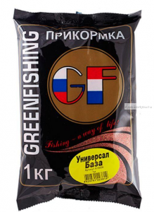 Прикормка Greenfishing GF Универсал База 1кг.