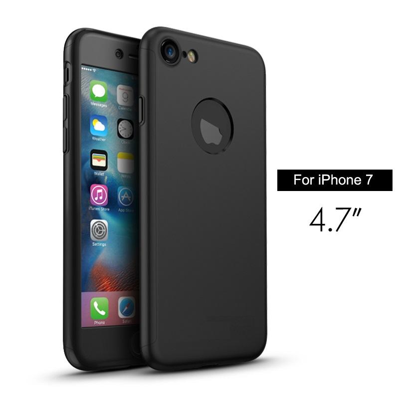 Чехол Paky 360 градусов защиты для iPhone 7/8 (черный)
