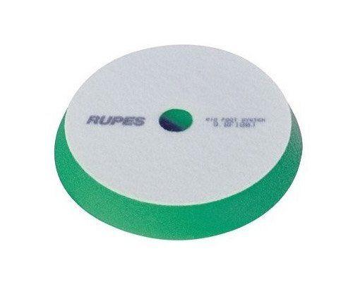Rupes Средней жёсткости поролоновый полировальный диск (MEDIUM) из плотного, ячеистого поролона, 34/40мм., зелёный