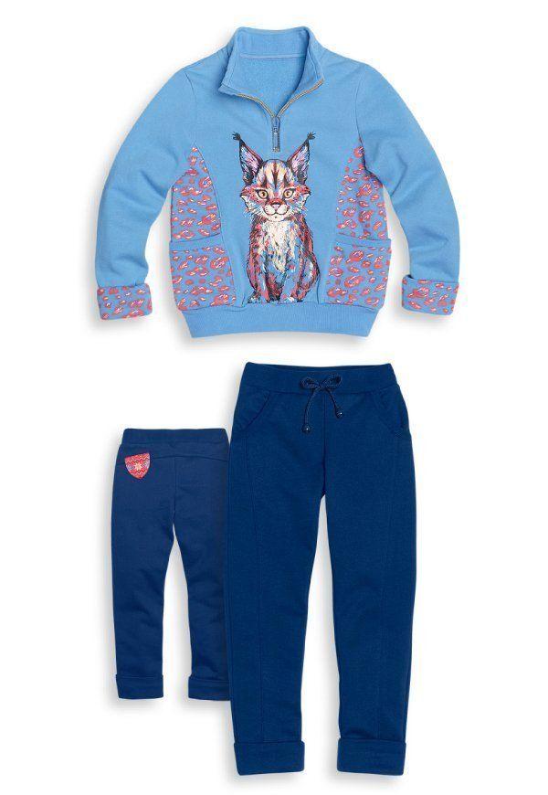Комплект Air blue для девочки 4 лет