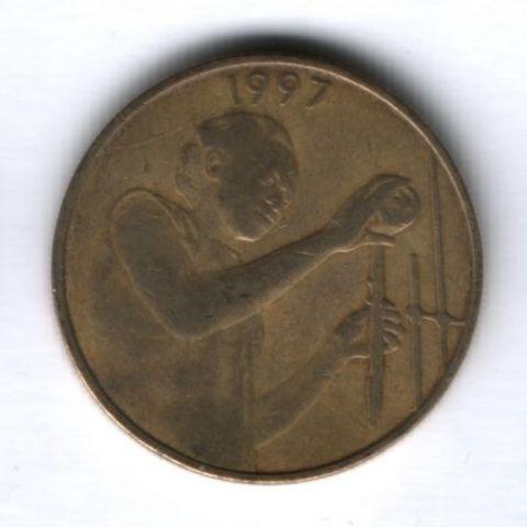 25 франков 1997 г. Западные Африканские Штаты