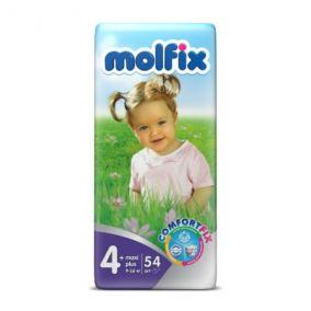 Подгузники Molfix 9-16 кг 54 шт