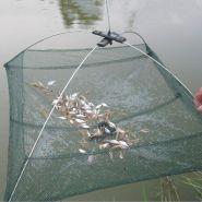 Складная рыболовная сеть 80x80 см