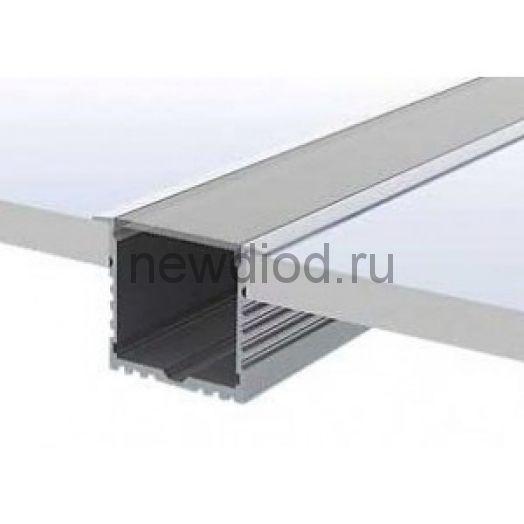 Встраиваемый алюминиевый профиль AN-P276 с экраном