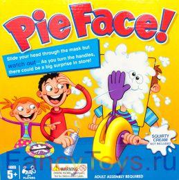 """Настольная игра """"Пирог в лицо"""" Сток по мятой упаковке (Торт в лицо, Pie Face)"""