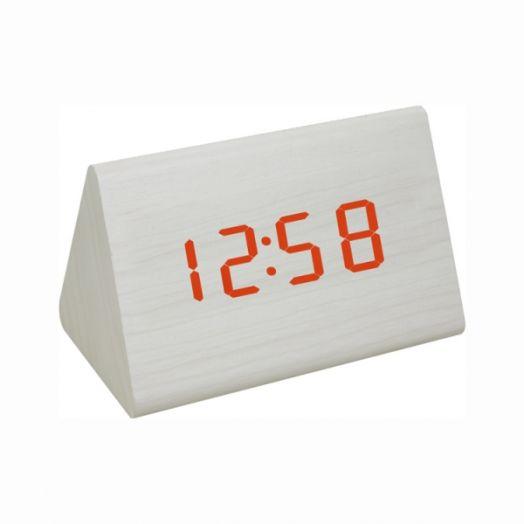 Часы эл. VST864-1 крас.цифры (БЕЛЫЕ)