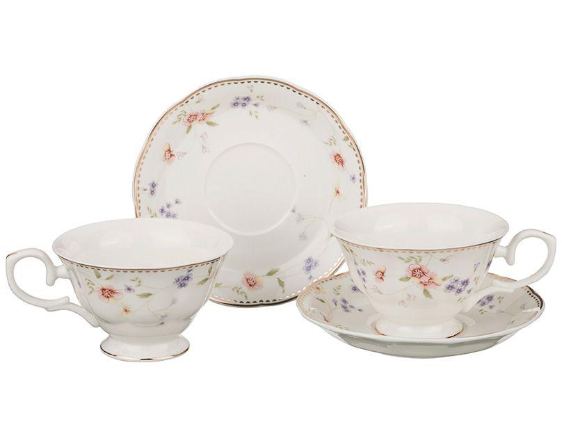 "Чайный набор на 2 персоны ""Пасадена"", 4 пр., 180 мл"