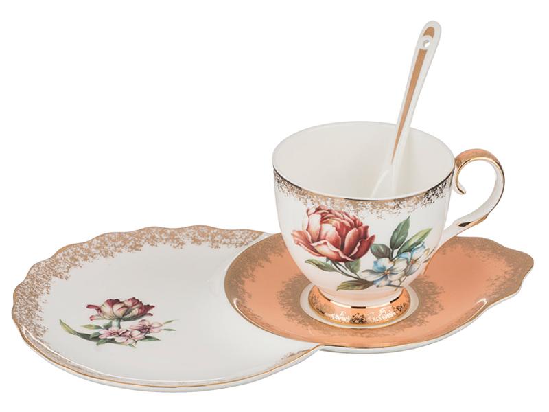 """Чайный набор на 1 персону """"Амелия"""", 2 пр., 250 мл"""
