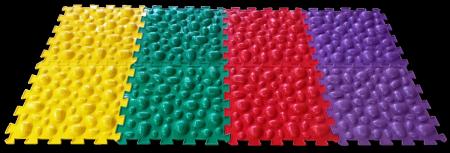 МИКС «Морские Камни» в описании 2 видео ортопедический массажный коврик пазл