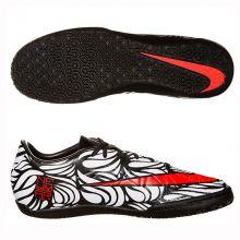 Футзалки Nike Hypervenom Phelon II Neymar Junior IC белые