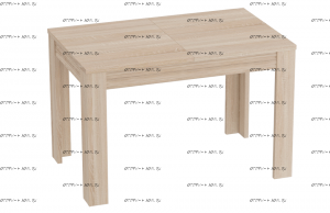 Стол раздвижной Элана МДФ (111х72х73) (Спальня)