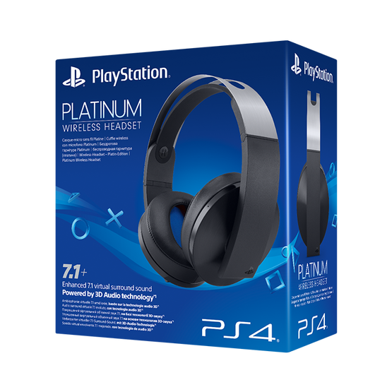 Гарнитура Sony Platinum Wireless Headset 7.1 (PS4)