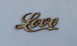 "`Заготовка слово ""LOVE""  10 см, фанера 3 мм"