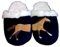 Тапочки для дома с лошадкой