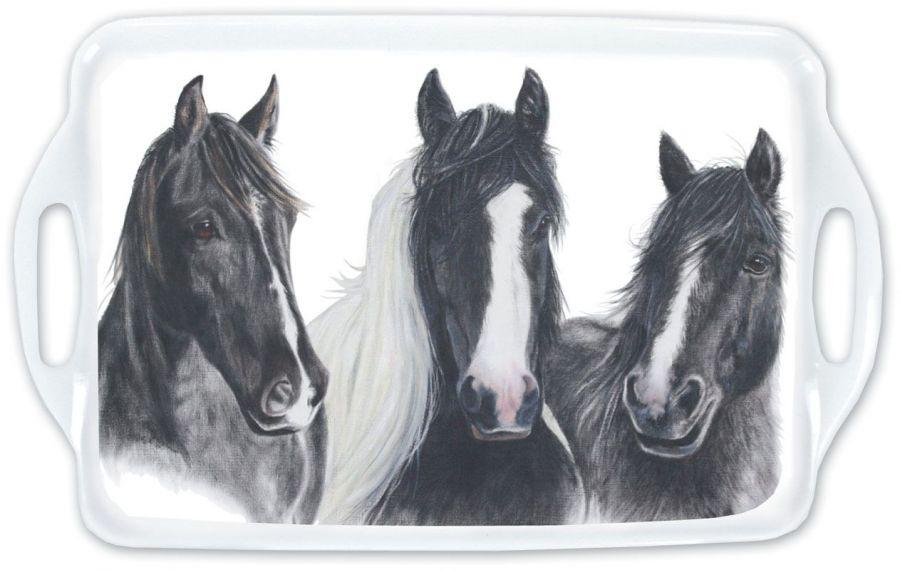 Поднос для дома с лошадьми