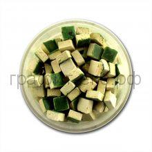 Мозаика 5х5 керамика зеленая МХ-7614-281