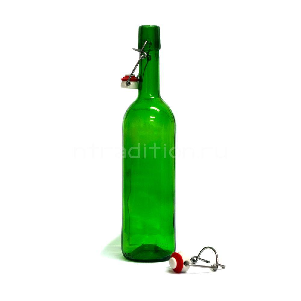 Бутылка Бордо с бугельной пробкой 0,75 л