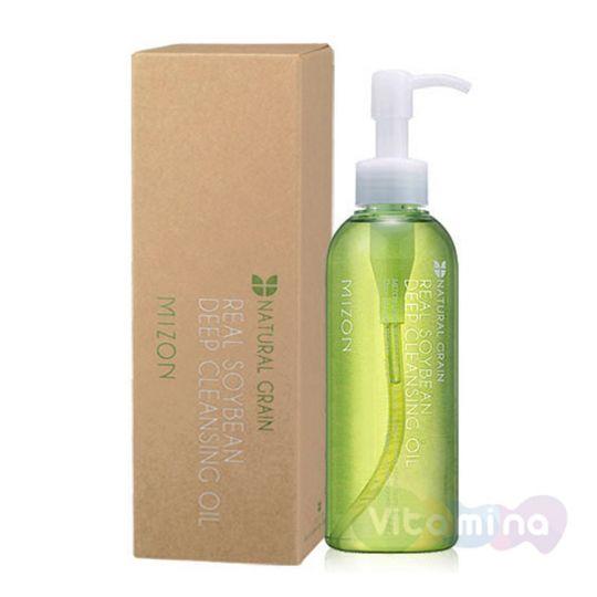 Гидрофильное масло для умывания - Mizon Real Soybean Deep Cleansing Oil