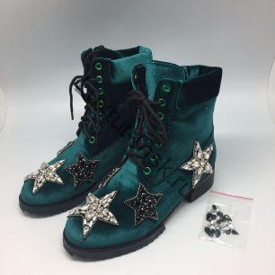 Ботинки №21 (бархатные. Весна-осень)