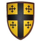 Щит рыцарский с крестами на золотом поле