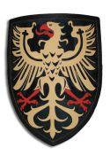 Щит рыцарский с немецким орлом на черном поле