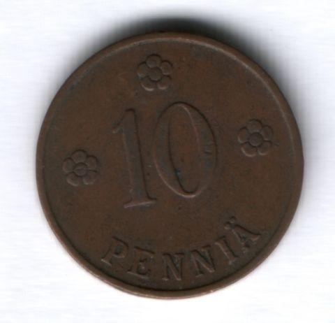 10 пенни 1927 г. Финляндия