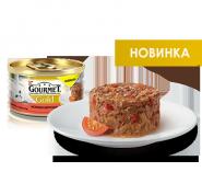 Gourmet Gold нежные биточки с говядиной и томатом (85 гр)
