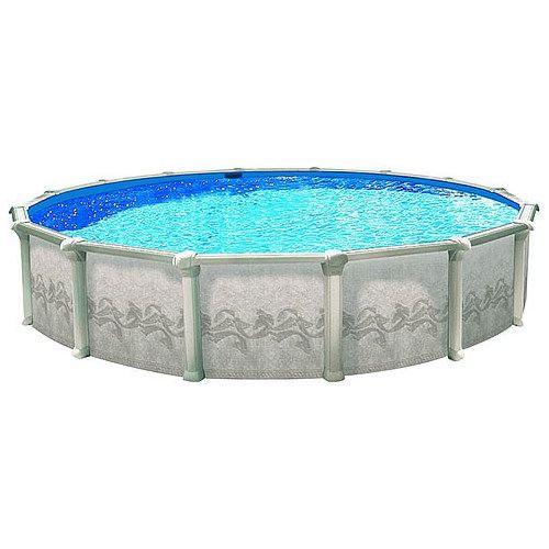 Сборный круглый бассейн Atlantic Pools Гибралтар J-4000 4,6 x 1,35м