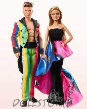 Коллекционная кукла Барби и Кен как Moschino -  Moschino Barbie and Ken Giftset