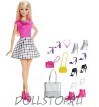 Игровая кукла Барби с обувью - Barbie  Doll and Shoes