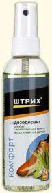 ШТРИХ Комфорт. Спрей-дезодорант для обуви 100 мл. Алоэ и Чайное дерево/48