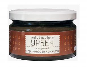 Урбеч из проростков семян коричневого кунжута Живой Продукт