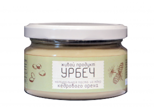 Урбеч из ядер кедрового ореха Живой Продукт